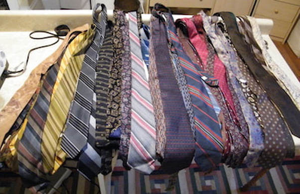 45 ties before they were transformed into heirlooms